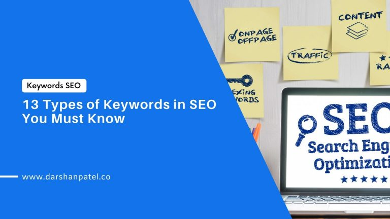 13 Types of Keywords in SEO You Must Know