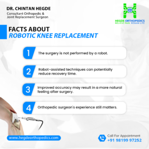 Facts about Robotic Knee Replacement surgery