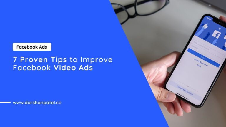7 Proven Tips to Improve Facebook Video Ads